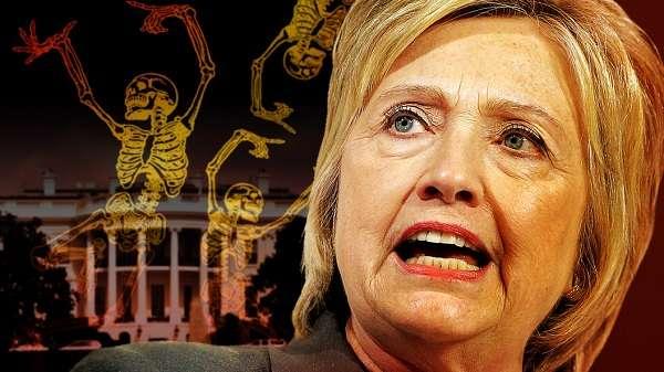 Хиллари Клинтон безжалостная убийца