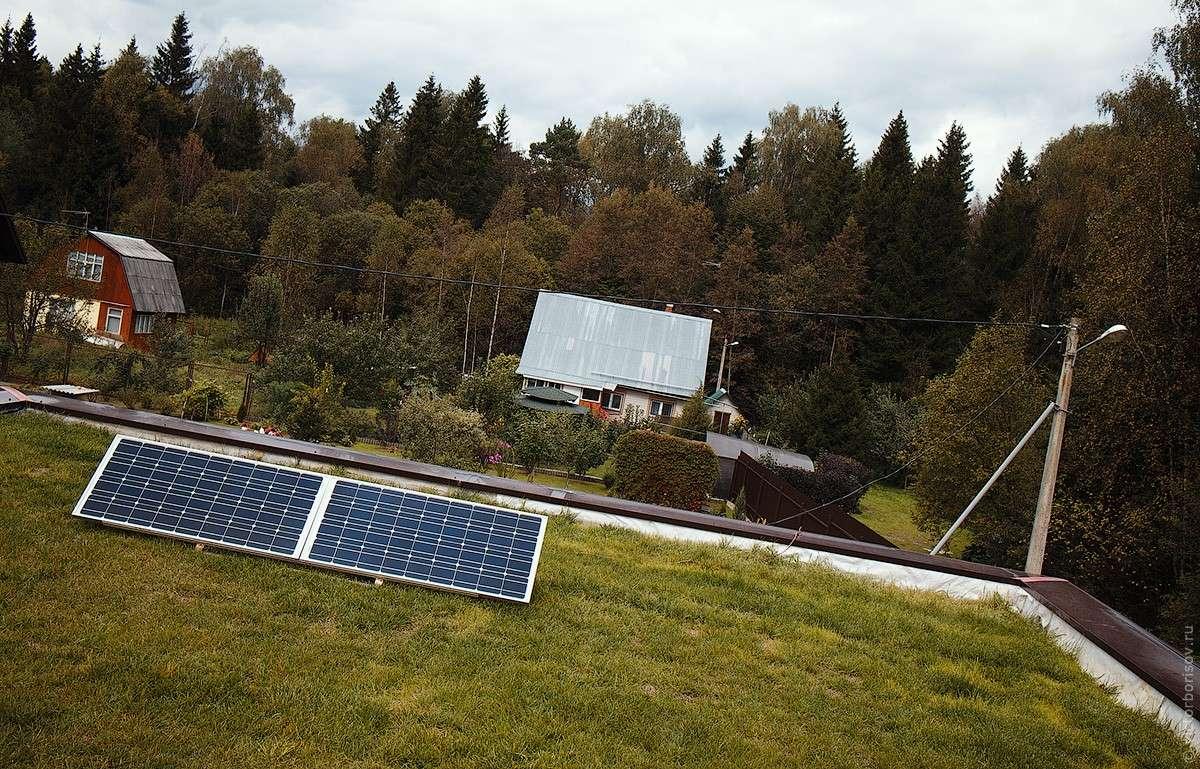 Солнечная батарея в Московской области – опыт реализации и результаты