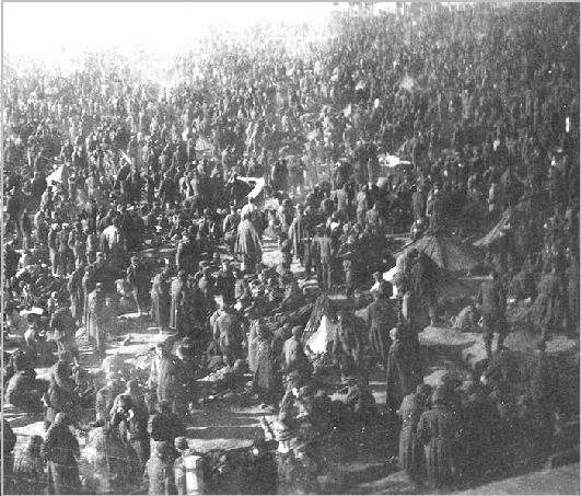 Американские лагеря смерти для немцев в оккупированной Германии