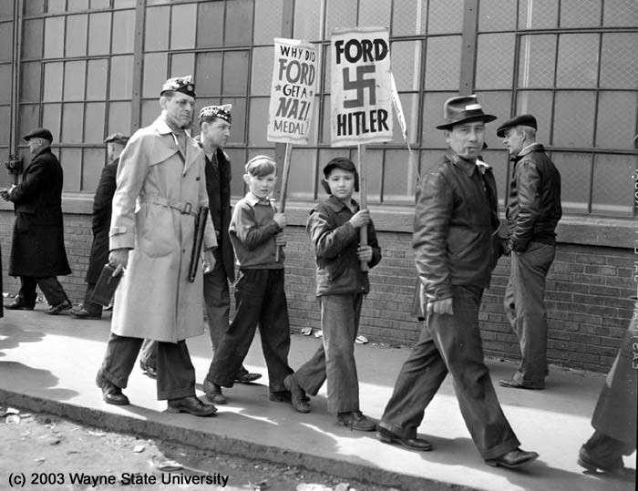 США во время Второй Мировой войны помогали не только СССР, но и фашистской Германии
