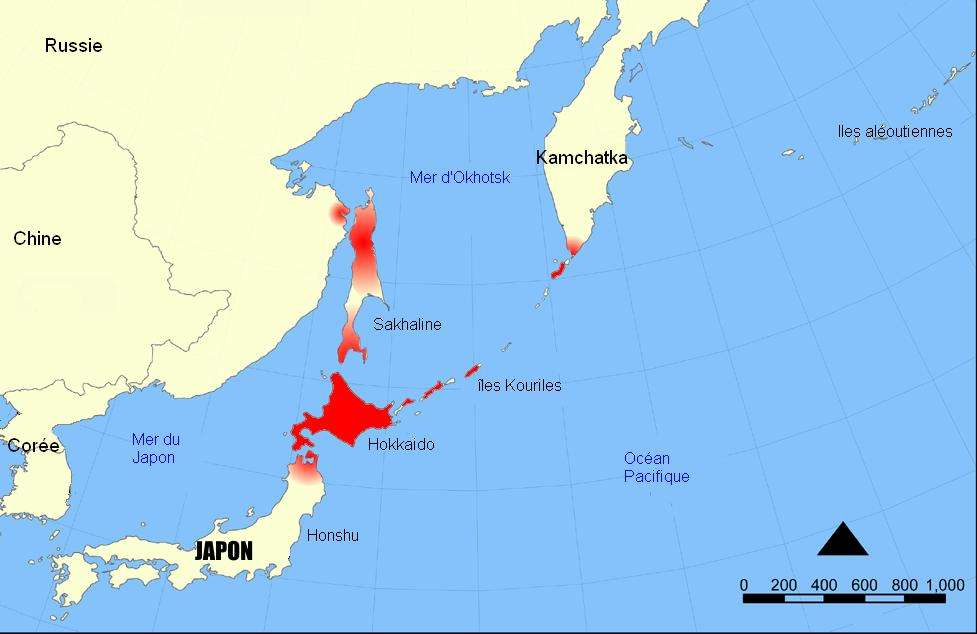 Японцы захватили «японские» острова, уничтожив коренных жителей
