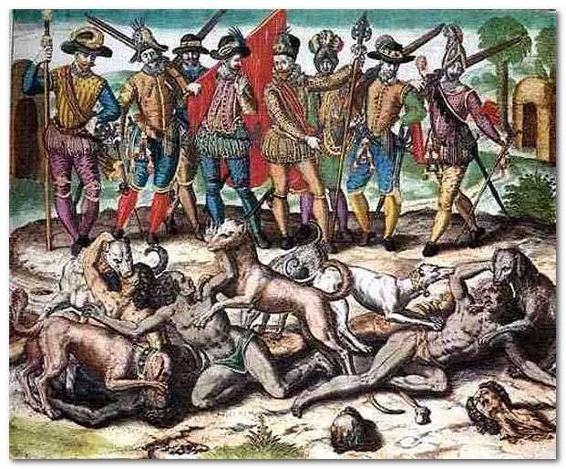 Геноцид непокорных наров, называемый паразитами «умиротворением» давно стал официальной политикой Запада