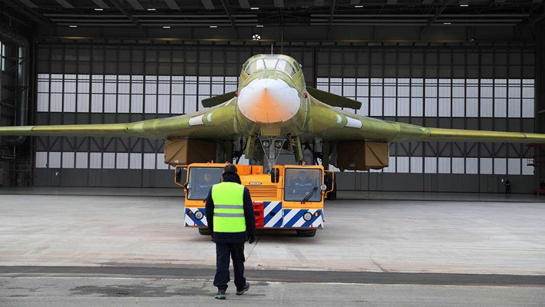 Ракетоносец Ту-160 получает вторую жизнь и возвращается в строй