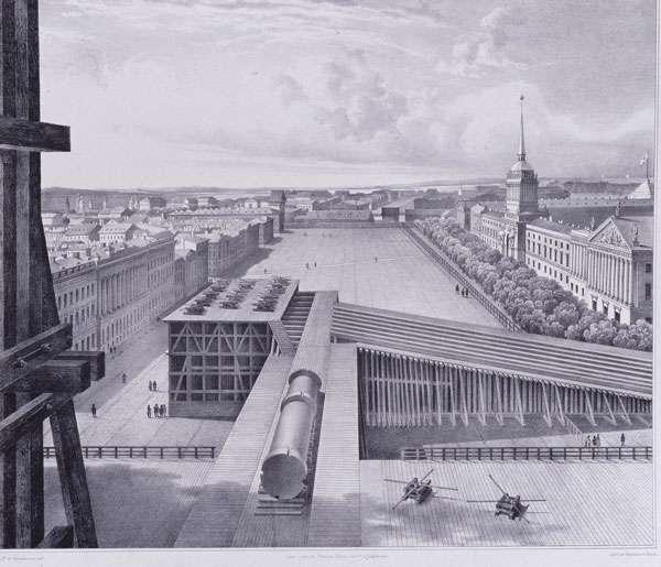 Александровская колонна – артефакт опровергающий официальную версию истории