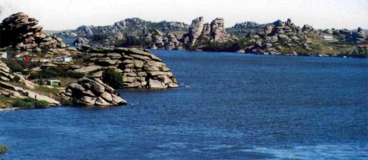 Колыванское озеро (Саввушка). Змеиногорский район Алтайского края