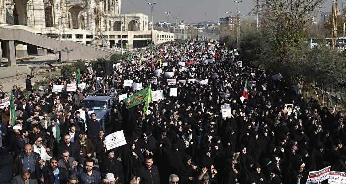 Майдан в Иране. Кому это выгодно?