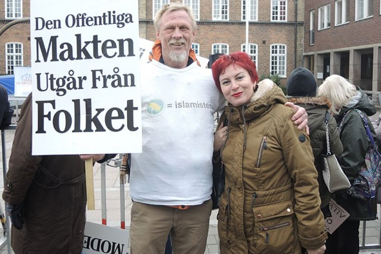 Изнасилованная мигрантами Швеция