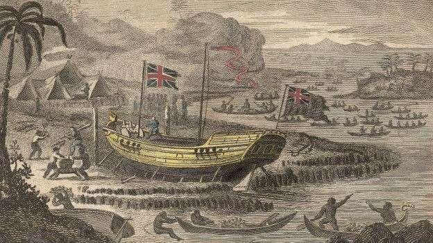 Британия – грабительство и геноцид