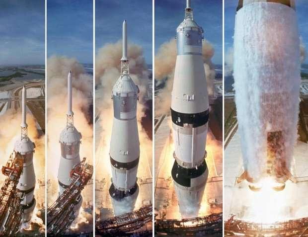 Лунная афера США: ракета Сатурн-5