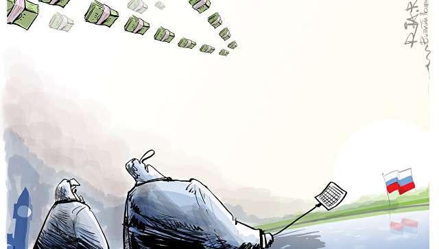 Деньги из США бегут в Россию