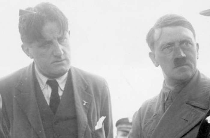 Гитлер агент Мирового Правительства