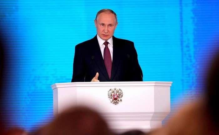 Послание Президента России Владимира Путина Федеральному Собранию 1 марта 2018 года