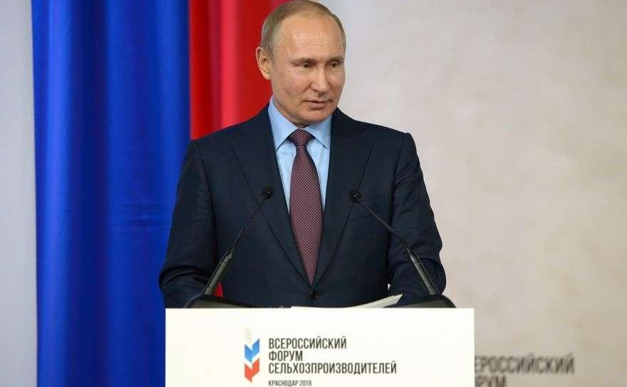 Владимир Путин о состоянии и перспективах российского АПК