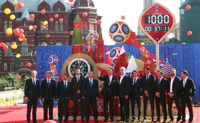 В ожидании чемпионата мира по футболу FIFA 2018 в России. Москва
