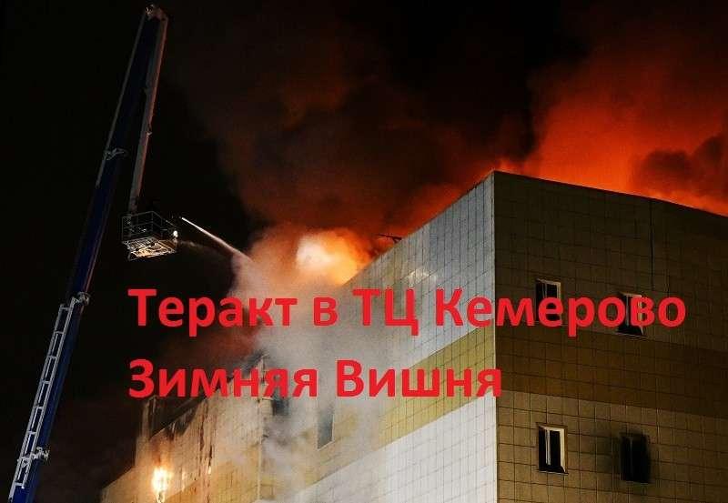 Трагедия в ТЦ Кемерово – это теракт!
