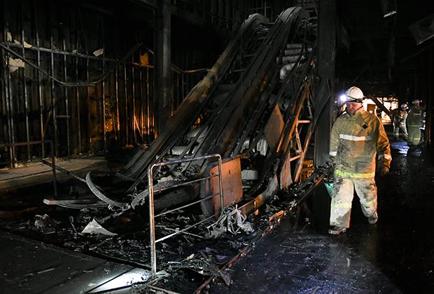 Исповедь пожарного в Кемерово