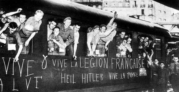 Франция принимала активное участие в войне против Советского Союза