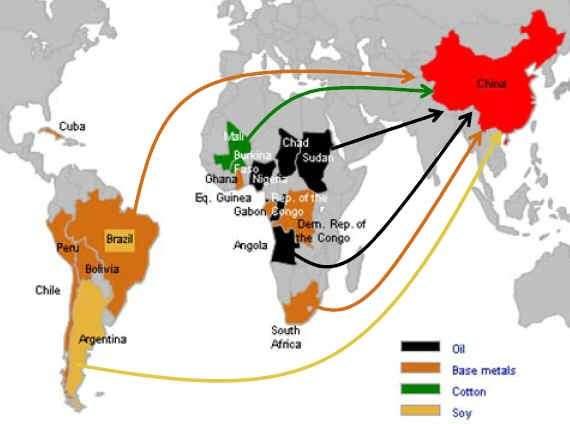 Мировая Китайская экспансия началась