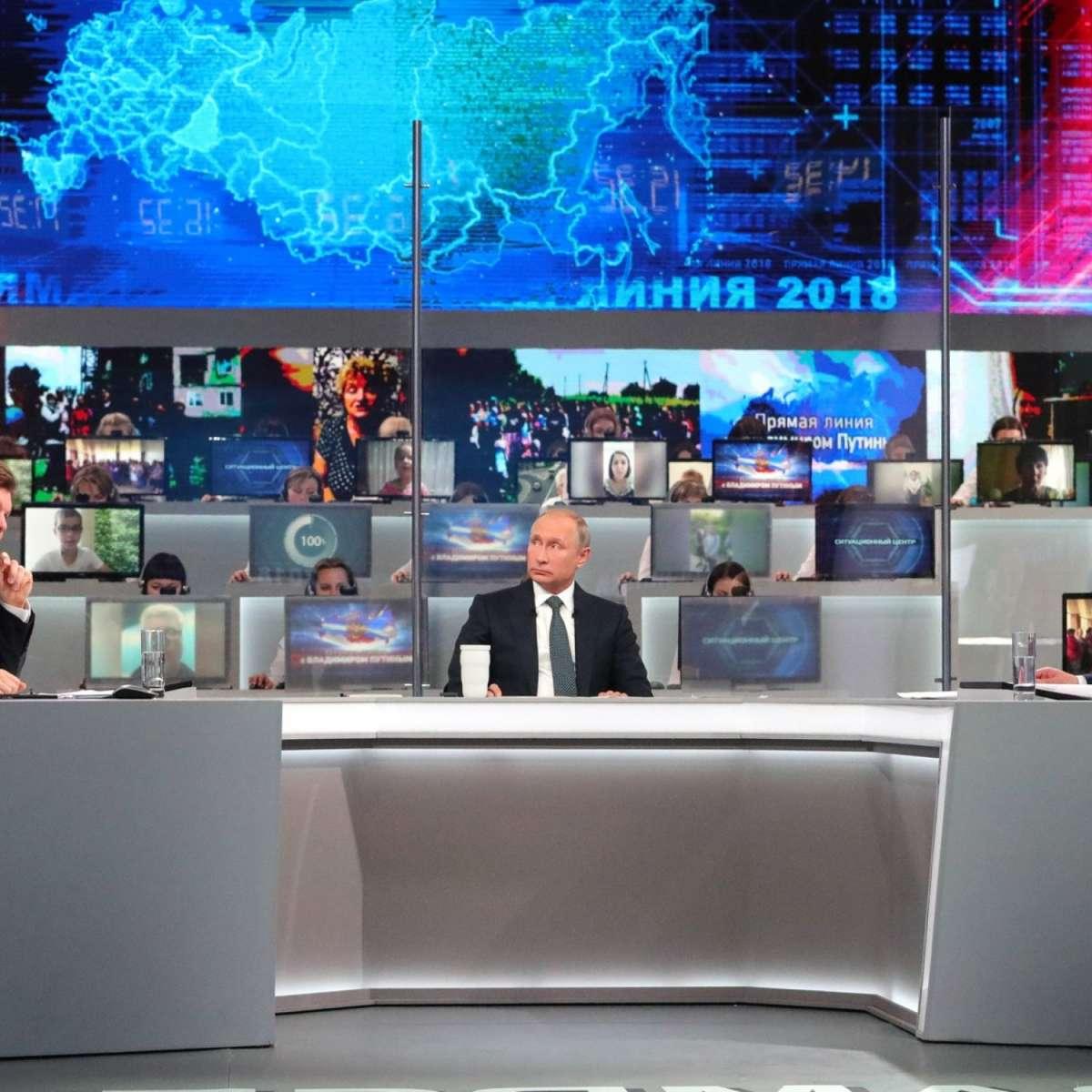 Путин ответил на вопросы на прямой линии