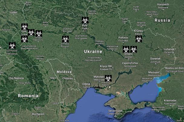 карта Ukriane BG