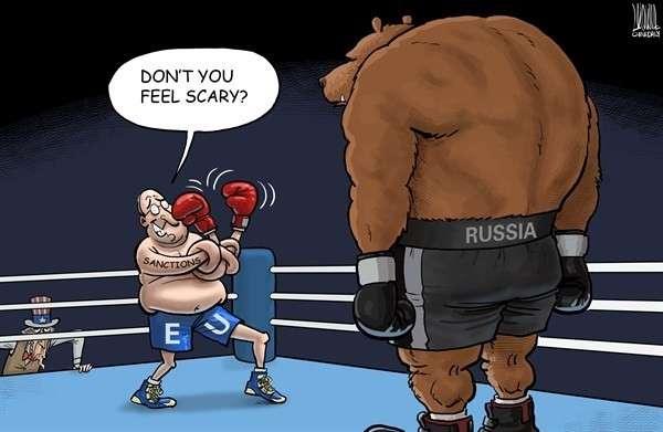 Запад плачет, извивается, но продолжает вводить новые санкции против России