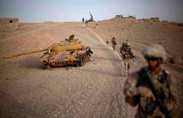 Россия и Талибан против американских террористов в Афганистане