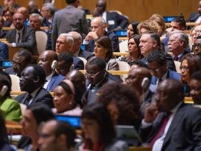 В ООН обсудили проблемы мира