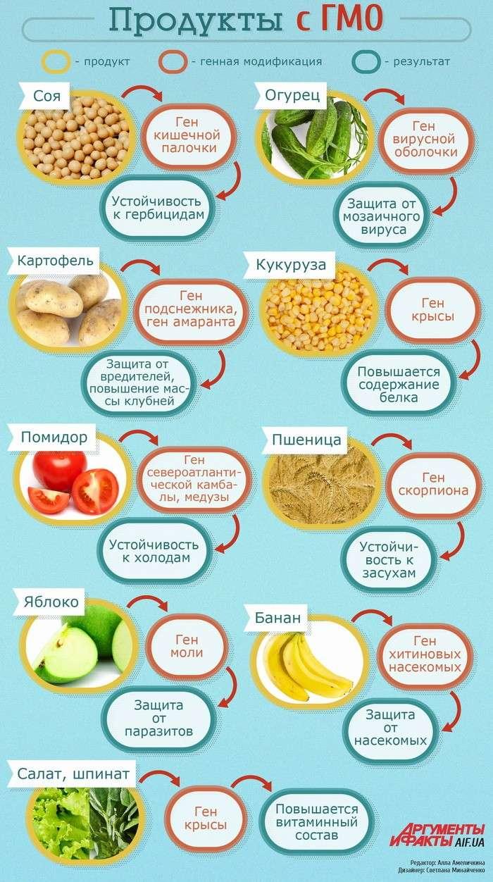 ГМО продукты: как уберечь себя от яда. Практические советы