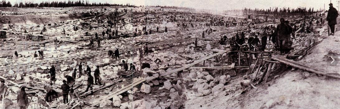 Железные дороги в царской России строили, или откапывали?