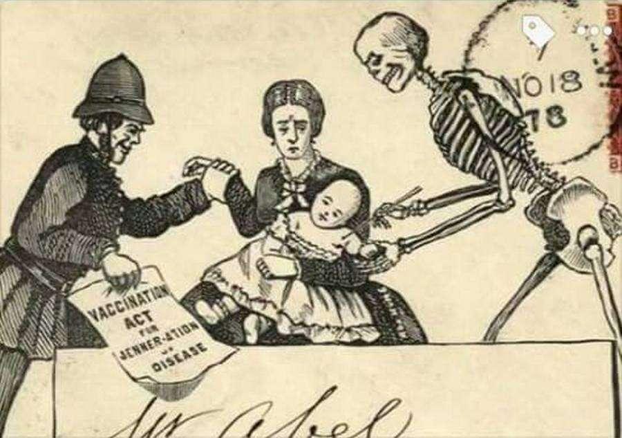 Против вакцинации борются более 100 лет