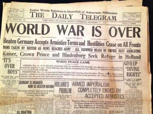 Эхо первой мировой войны