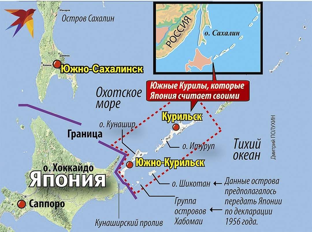 Курильские острова и мирный договор России с Японией: почему японцы так нагло лезут на русскую землю