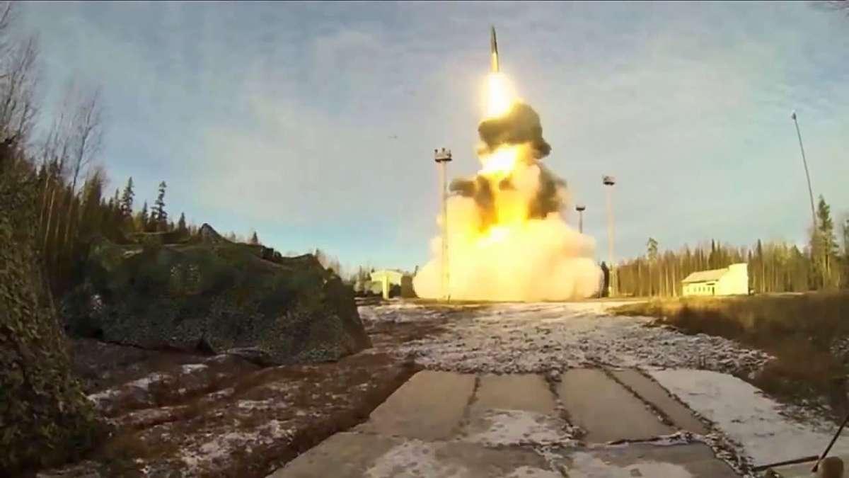 Запуск МБР со спутником можно осуществлять из любой точки России.