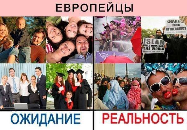 Равнение на Запад приведёт Россию к полной деградации и уничтожению