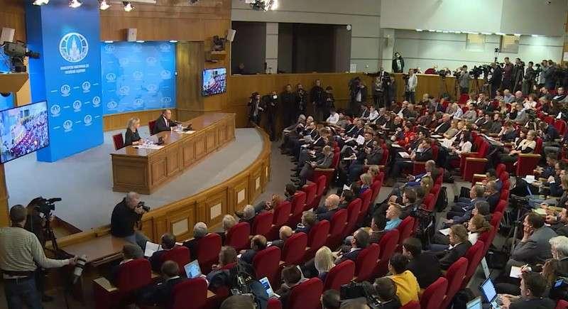 Пресс-конференция Сергея Лаврова по итогам деятельности российской дипломатии в 2018 году. 16 января 2019 года