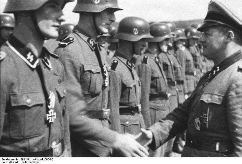 Военная элита – дивизия СС «Мёртвая голова»