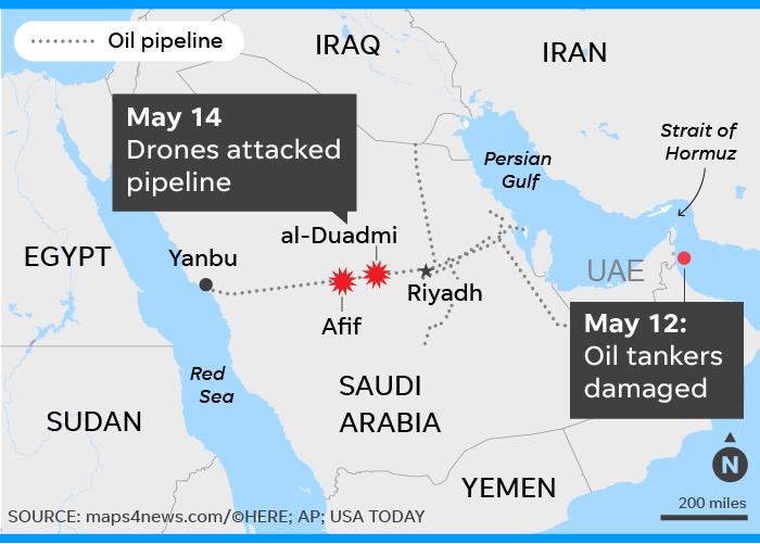 Взрыв не существующих танкеров для импичмента Дональда Трампа