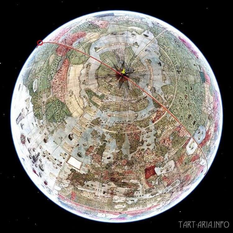 Секрет нулевого средневекового географического меридиана
