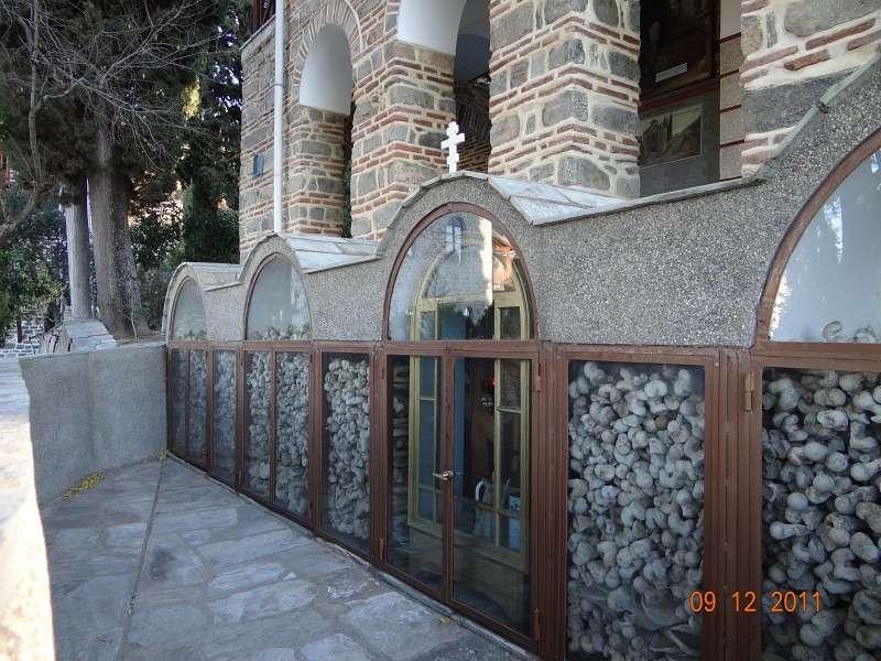 Костницы на Афоне