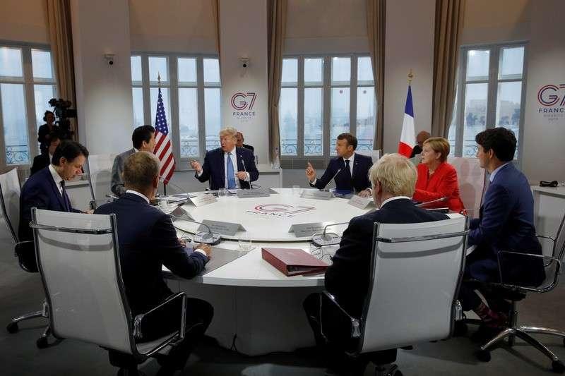 Саммит G7 в Биаррице: Запад просит Россию попросится обратно в G8