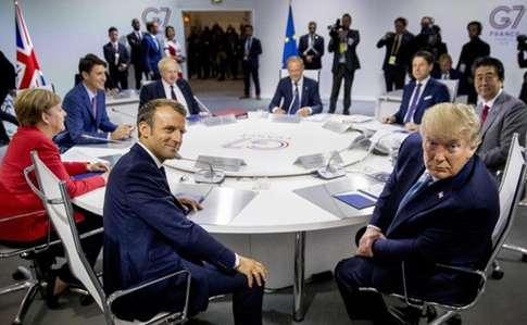 Саммит G-7 в Биаррице показал, что из себя представляет «Большая семёрка»