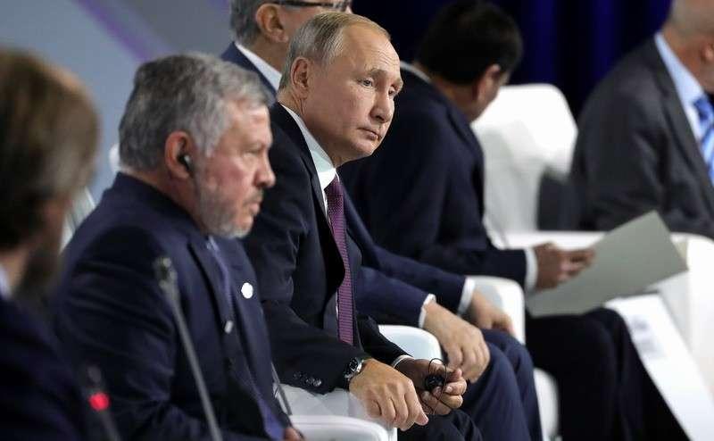 Владимир Путин на Заседании Международного дискуссионного клуба «Валдай» 2019 года