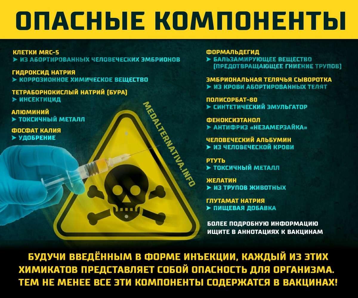 Вакцины настраивают иммунитет против организма и приводят к аутоиммунным заболеваниям