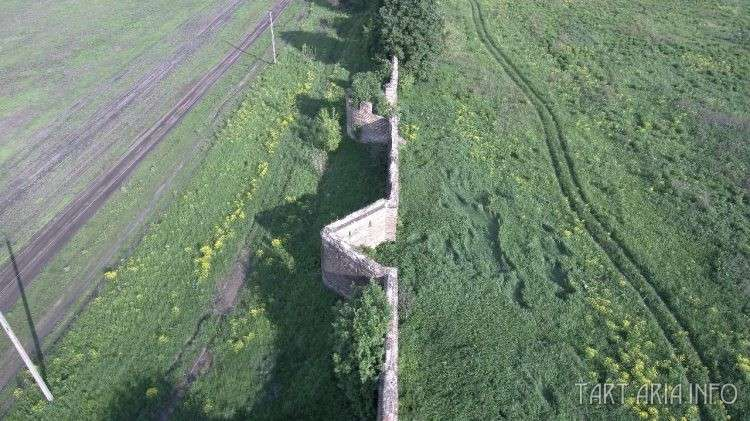 Сабуровская крепость – разрушенный металлургический завод 19 века