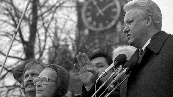 Борис Ельцин 20 лет назад покинул пост президента России