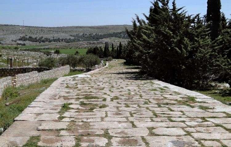Римские послепотопные древние дороги