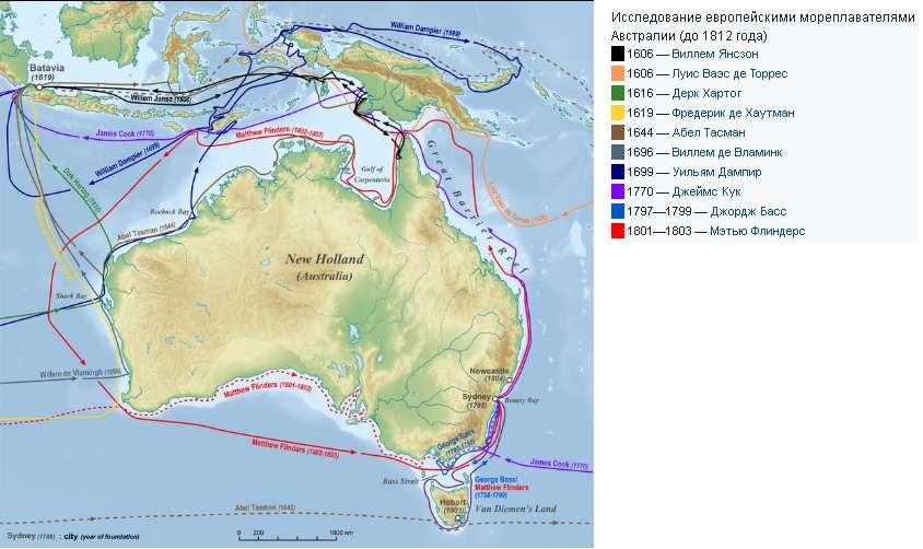 История Австралии является такой же выдуманной, как и история Америки и других континентов