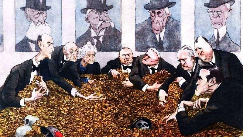 Рабочий класс создан в качестве рабов для капиталистов