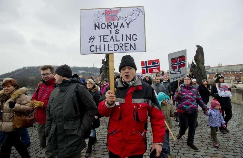 Барневарн в Норвегии – это государственный фашизм в чистом виде и геноцид белого населения