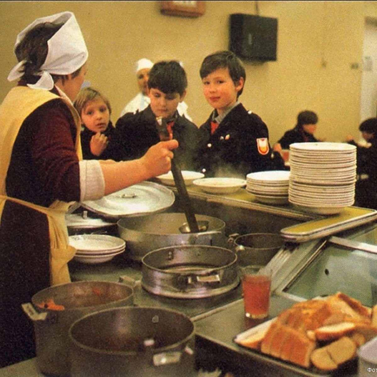 Еда и питание в СССР